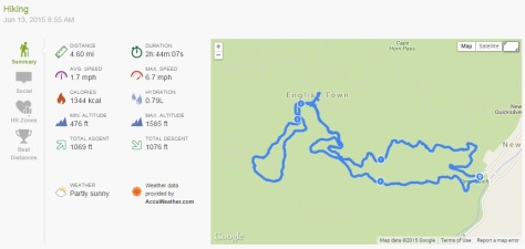2015.06.13 Endomondo Data