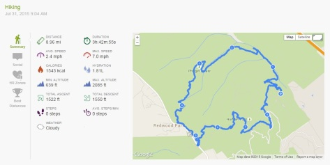 2015.07.31 Endomondo Data