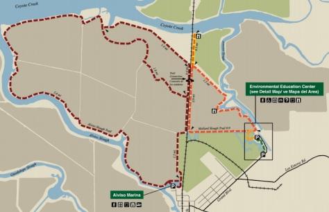 Alviso and Mallard Slough Trail