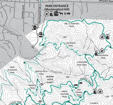 Almaden Quicksilver County Park | Hiking and Biking in the Bay Area ...