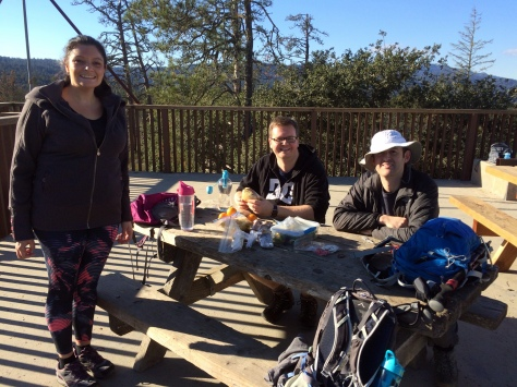 Henry Cowell Redwoods State Park: Lunch at the Observation Deck