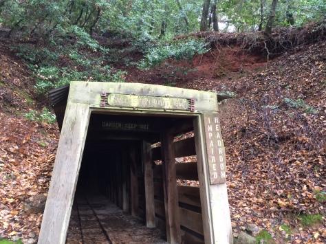 San Cristobal Mine Tunnel